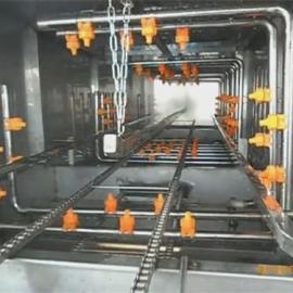 隧道式筐子清洗机_诸城盛世铭翔_隧道式筐子清洗机不锈钢