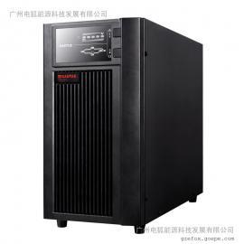 山特UPS不�g�嚯�源C10KS主�C10KVA/8000W