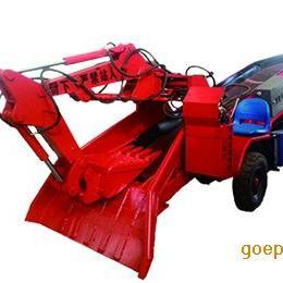 轮胎履带扒渣机60型-挖掘式装载机 灵宝市三利机械