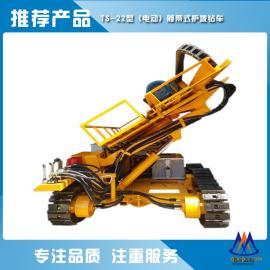 洛阳通山TS-22型护坡履带钻车 露天履带式基坑钻车