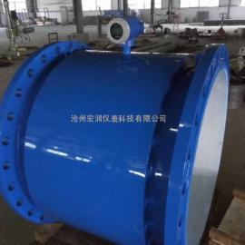 上海污水酸碱用电池型电磁流量计