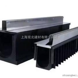 上海厂家供应HDPE线性排水沟 成品排水沟厂家直销