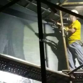深圳大鹏电厂除盐水箱喷涂防腐聚脲