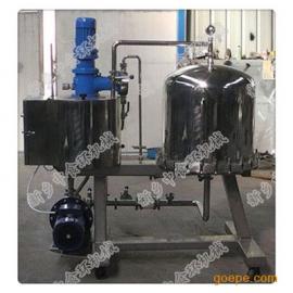 水平圆盘式硅藻土过滤机设备结构与工作原理 图