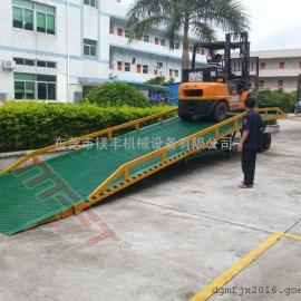 惠州货柜卸货专用平台 叉车装货平台出租