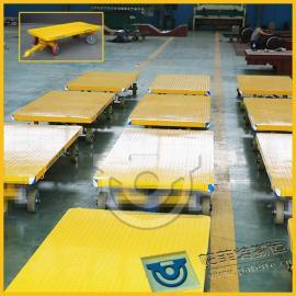 生产制造加工机床搬运台车批发零售重型车手推平板车20t