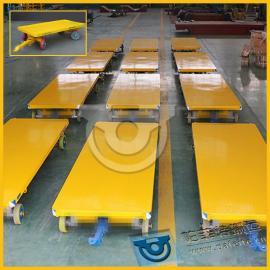 不锈钢移动工具车运输拖车四轮平板拖挂车厂家直销