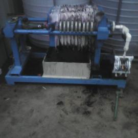 小型厢式污泥脱水机 污水过滤板框压滤机