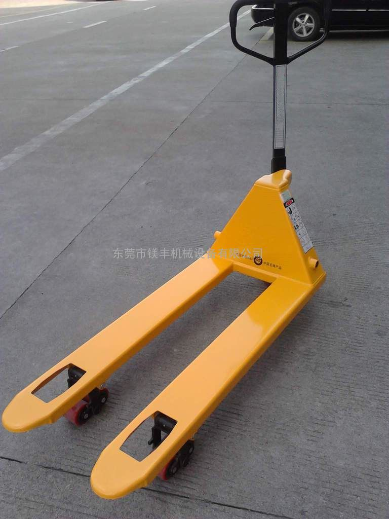 5t/3t搬运车 通用手动搬运车 液压手推叉车图片