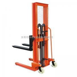 批发1吨/2吨手动升高叉车 脚踩式升降叉车 液压堆高机