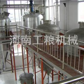 米糠油机械加工工艺,米糠油机械,精炼油脂设备