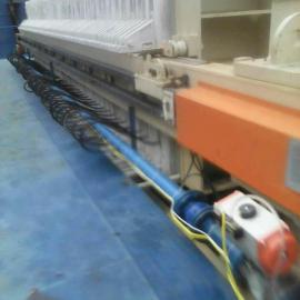工业废水处理自动压滤机 油田废水过滤厢式隔膜压滤机