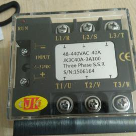 台湾JK积奇三相SSR固态继电器JK4C25A-3A100