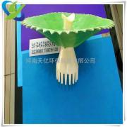 造纸工业用螺旋式曝气器 皮革废水处理用旋混式曝气器