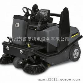 汽油发动扫地机车 凯驰驾驶式扫地机扫地车