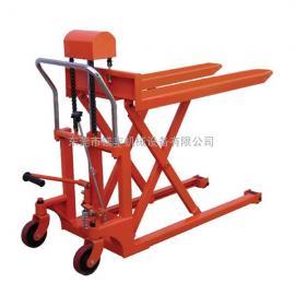 剪叉式堆高叉车 可搬运和升降设备 常平高升程叉车