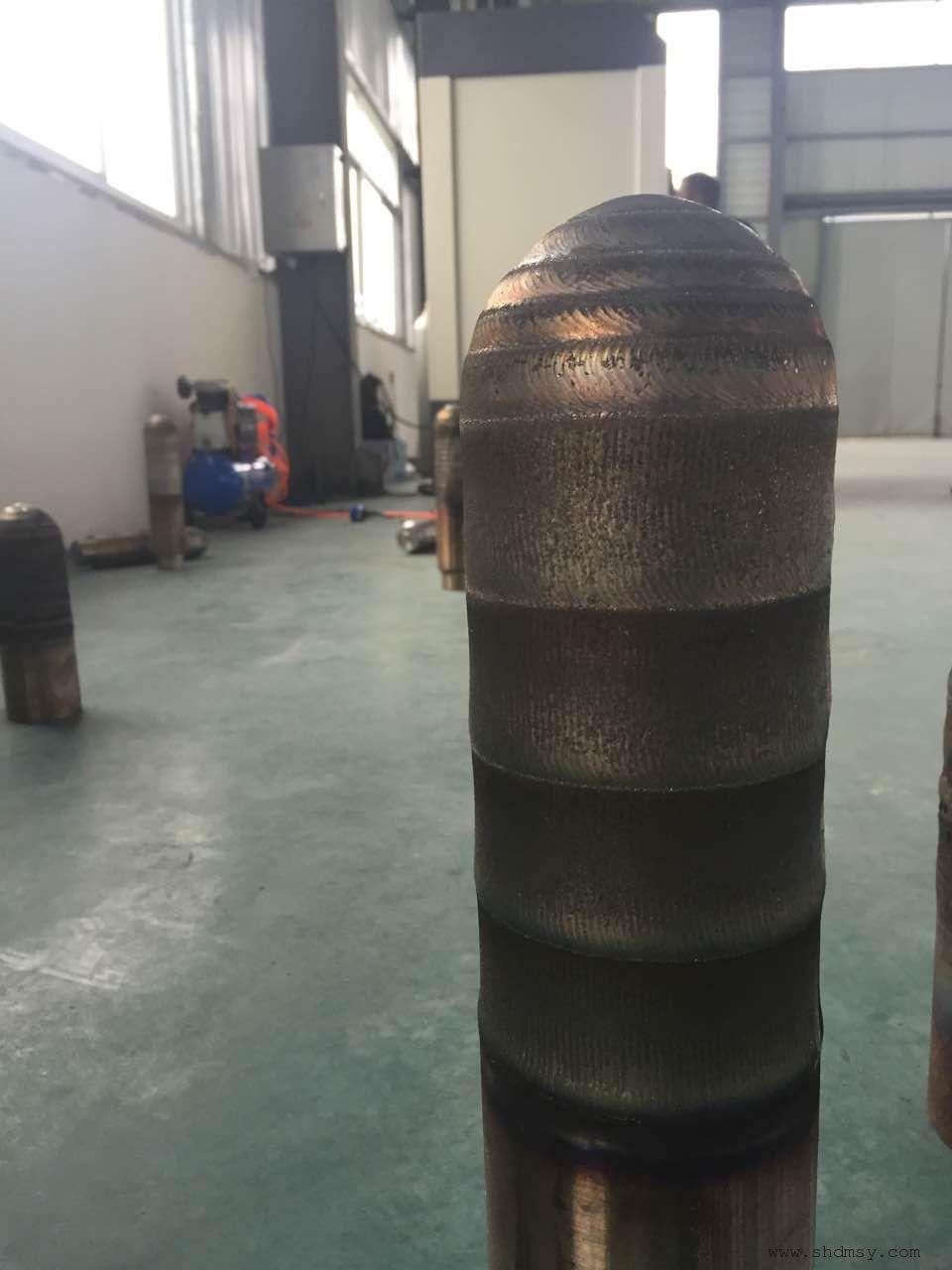 电解铝打壳锤头耐磨熔覆机