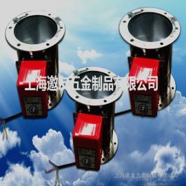 生产加工:电动调节阀 圆形双法兰电动风量调节阀 手动调节阀