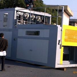 上海展仕大型厚板吸塑成型机
