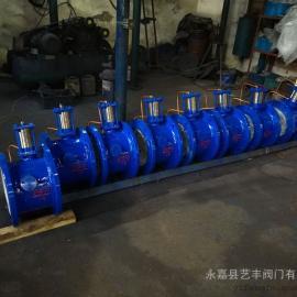 浙江温州厂家生产BFDG7H41HR-25C DN450活塞式管力阀