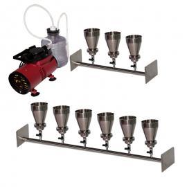 多联微孔滤膜抽滤器/抽滤装置/抽滤系统