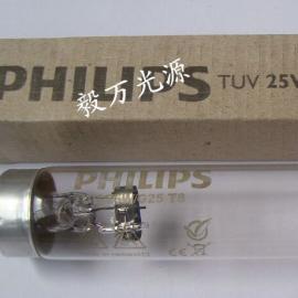 �w利浦消毒�艄�TUV25W G25T8�t用紫外�消毒��