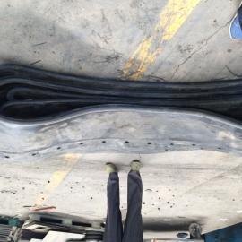 南京市地铁隧道帘布橡胶板|盾构顶管机头常用橡胶帘布板型号