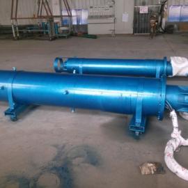 高扬程大流量不锈钢防腐热水潜水泵