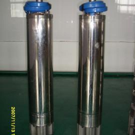 热水120度不锈钢小直径高扬程潜水泵
