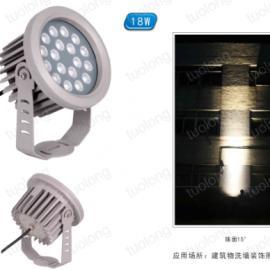 21W�A形大功率LED投光�敉渡��