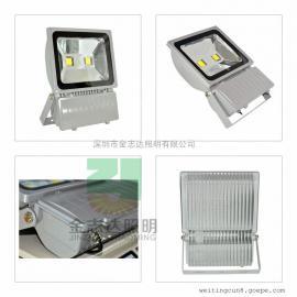 100瓦led集成投光灯生产厂家/100瓦led投光灯
