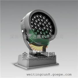 圆形led投光灯18瓦/led七彩投光灯18瓦圆形