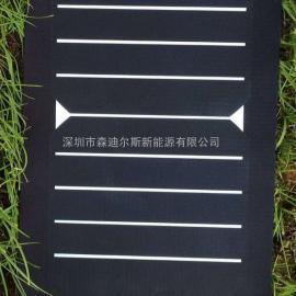 6瓦纯黑高效太阳能电池板充电板