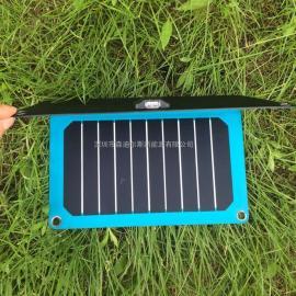11瓦蓝色高效太阳能电池板充电板