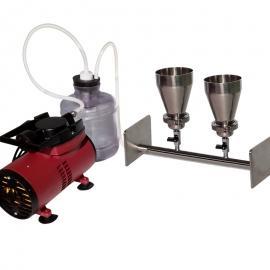 不锈钢两联溶剂抽滤器/抽滤装置/抽滤系统