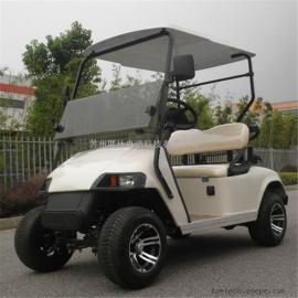 厂家直销四轮两座电动高尔夫球车 老人休闲代步车 景区观光车