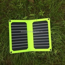 11瓦浅绿高效太阳能电池板充电板
