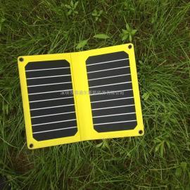 11瓦黄色高效太阳能电池板充电板
