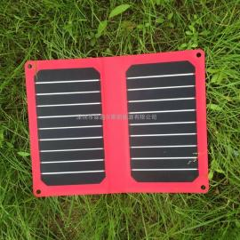 11瓦红色高效电池板充电板