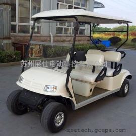 厂家直销四轮电动高尔夫球车 四座休闲代步车 景区游览观光车