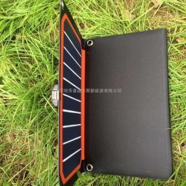 16w橙色折叠太阳能充电板