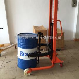惠州石湾油桶翻转倒料车|惠州油桶升高车