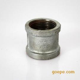 国标冷镀管古管箍直接 玛钢内螺纹/丝扣大小头变径管接