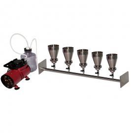 不锈钢五联微孔滤膜抽滤器/抽滤装置/抽滤系统