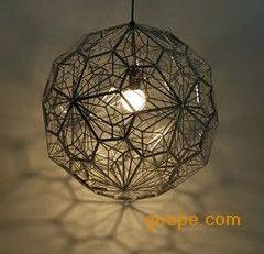 不锈钢LED圆球吊灯酒店大堂装饰灯具楼梯灯过道灯个性创意灯