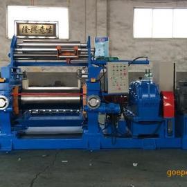 18寸炼胶机_出口品质橡胶混炼机(带气动割胶分条刀)