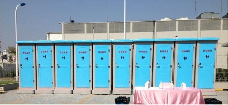 武汉临时活动卫生间出租-流动洗手间出租