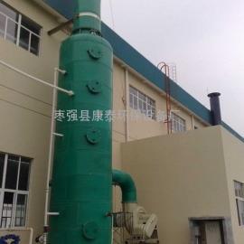 酸气喷淋塔结构及原理