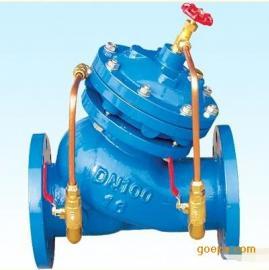 实价批发铸铁多功能控制阀 JD745X-16西安水泵控制阀