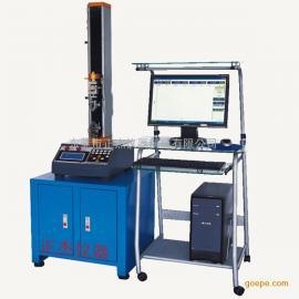 单柱型微电脑控制电子万能拉力试验机 拉力机现货供应